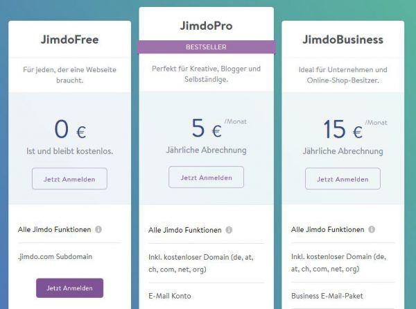 Jimdo Review Der Jimdo Onlineshop Im Test Webshopmeister