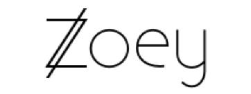 Zoey Ecommerce Test: Logo
