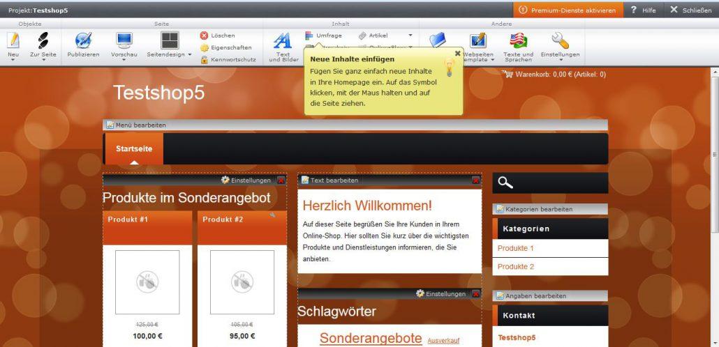 Webnode Test Ergebnisse Und Erfahrungen Webshopmeister